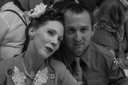 Connie Larson and husband
